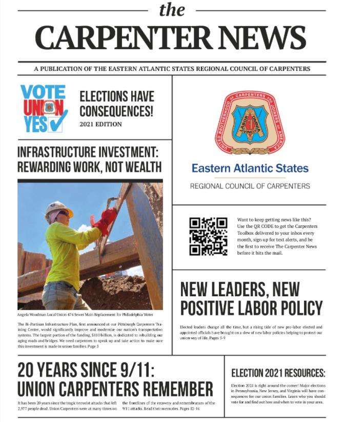 The Carpenter News September 2021